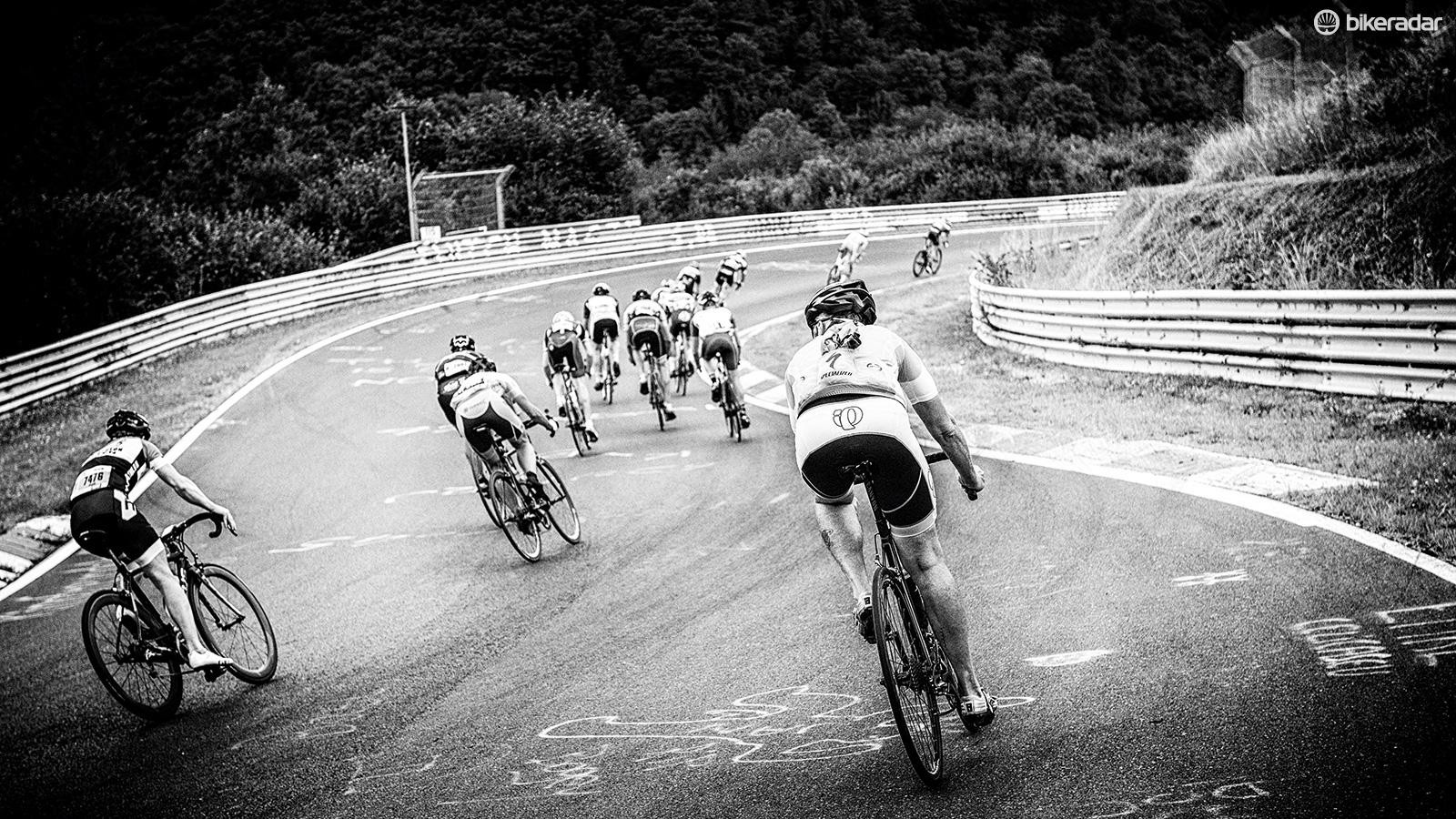 Rad Am Ring is a weekend-long festival of cycling with 5,500 competitors