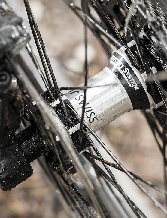 Stiff swiss wheels from DT