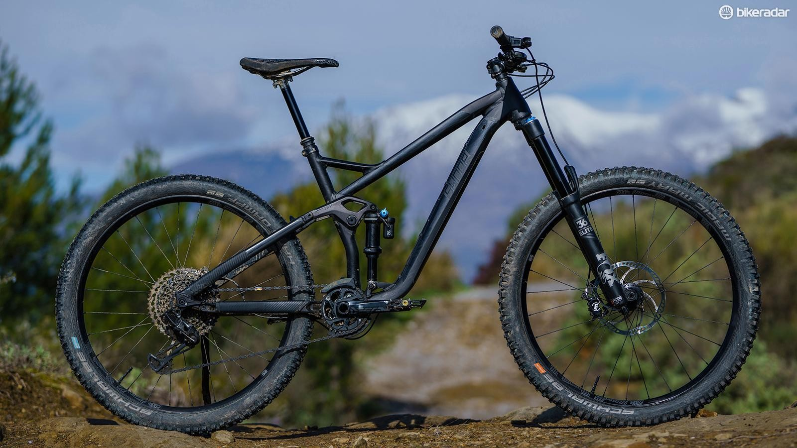 The Swoop 170 has great geometry and some seriously sorted components. It's hard not to like it