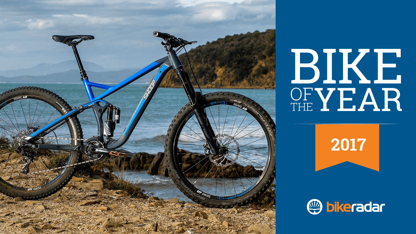 The Radon Swoop 170 8.0 is our tester's pick for the Best Enduro Bike of 2017