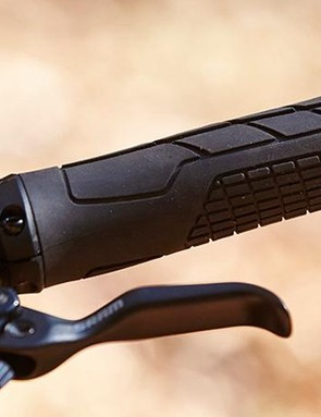 The Swoop 170 is let down by its rubber, including the Ergon grips