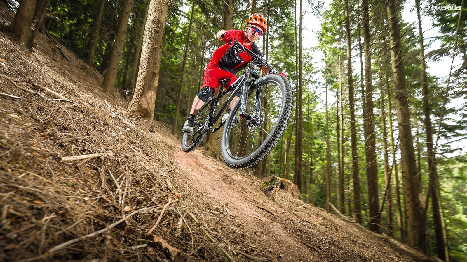 Steamroller the trails on the BigWig 29