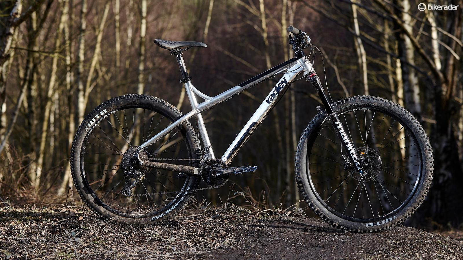 Ragley's Mmmbop 27.5 has an almost downhill-slack front end