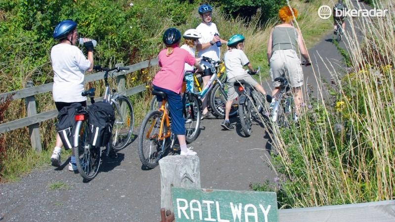 National Cycle Network routes are good for beginners