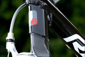 a full carbon back end, rather than one with just carbon seatstays – rare at this price.