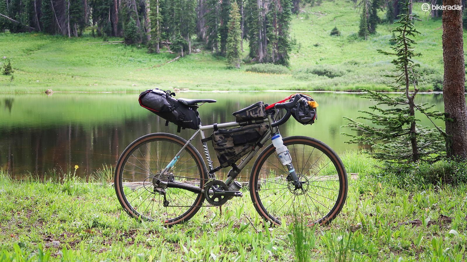 Niner's RLT 9 Steel is a comfortable bikepacking companion