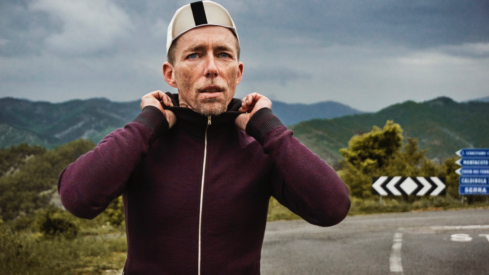 Rapha Coppi includes a number of casual merino pieces, like this sweater