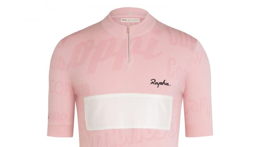 The Rapha Coppi Rosa jersey