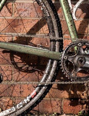 The SRAM Force groupset took a pounding on the day