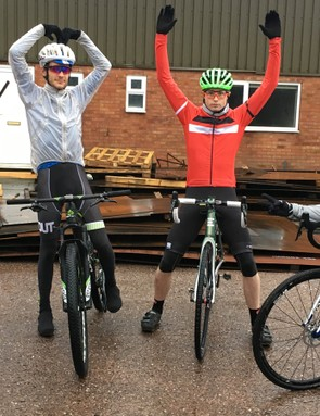 BikeRadar's finest: Josh, Joe, Jack and Reuben