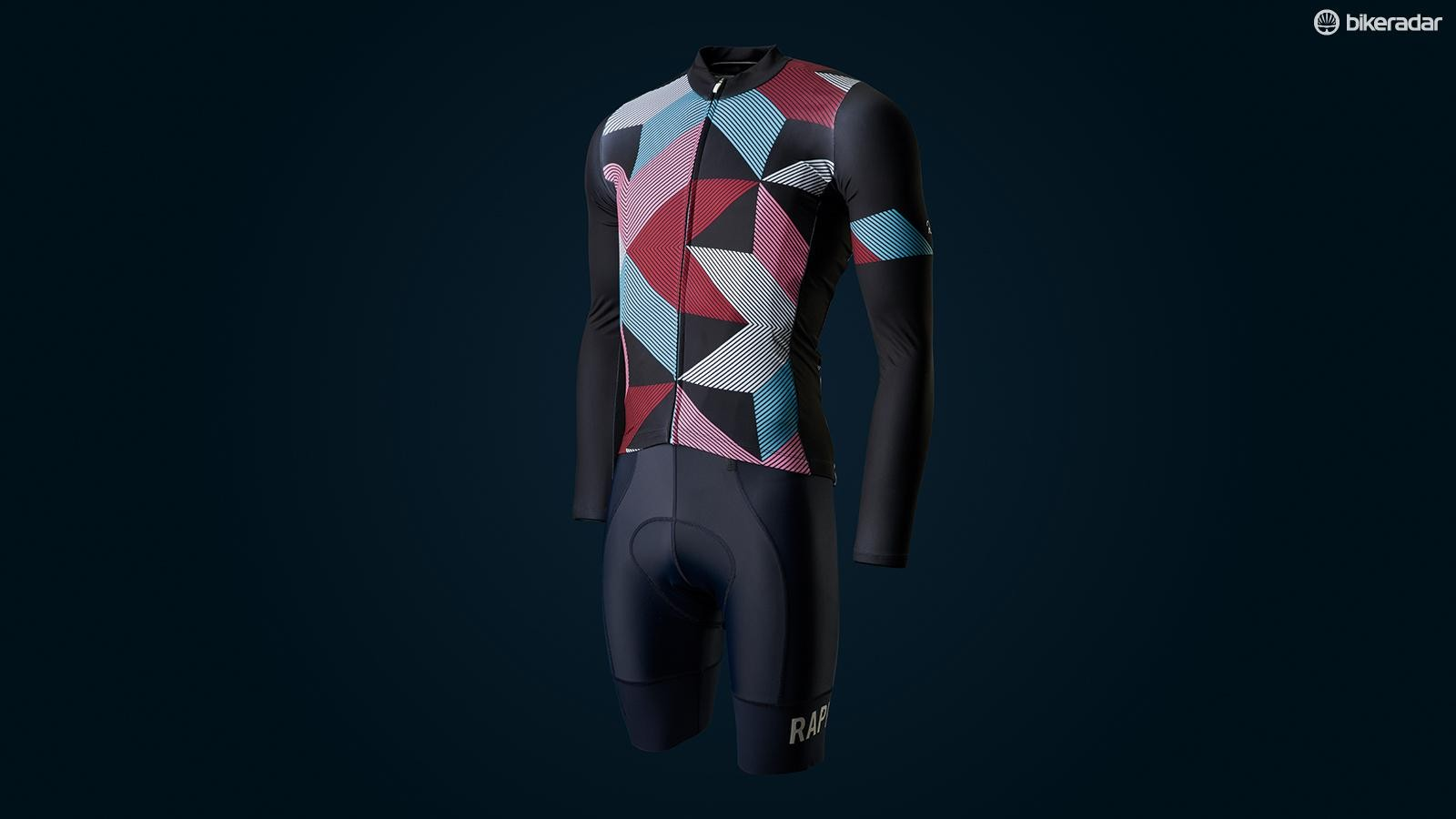 Rapha Cross Jersey and Pro Team Bib shorts