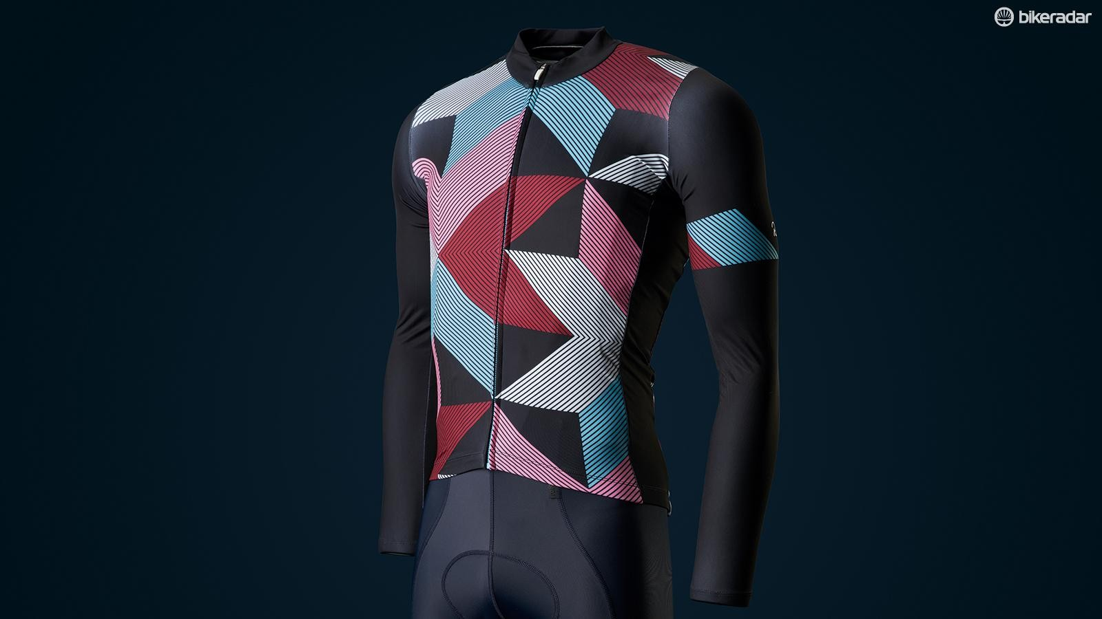 The fabric is extremely stretchy, and fits as close as a skinsuit