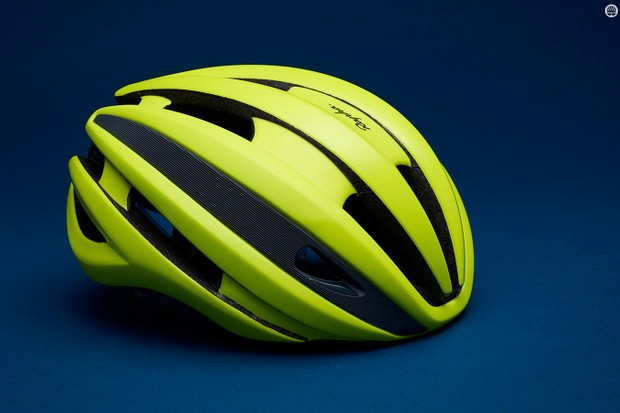 The Rapha Synthe helmet