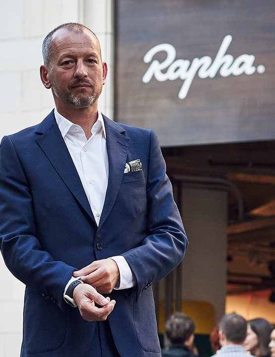 Rapha's founder and CEO Simon Mottram