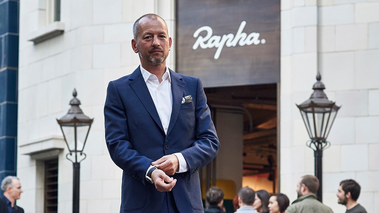Rapha's founder, Simon Mottram
