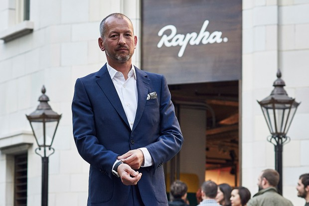 Rapha's founder, Simon Mottram