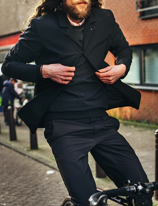 The Shadow Blazer is all about form, fit and function… and a premium price of £400