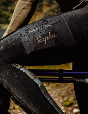 The Cargo Winter Tights are also treated with a water repellent coating