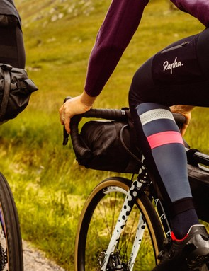 The range includes Cargo Winter Tights with reflective panels and pockets on the back and thighs
