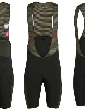 The Cargo Bib-shorts are constructed from Rapha's Shadow water repellent fabric