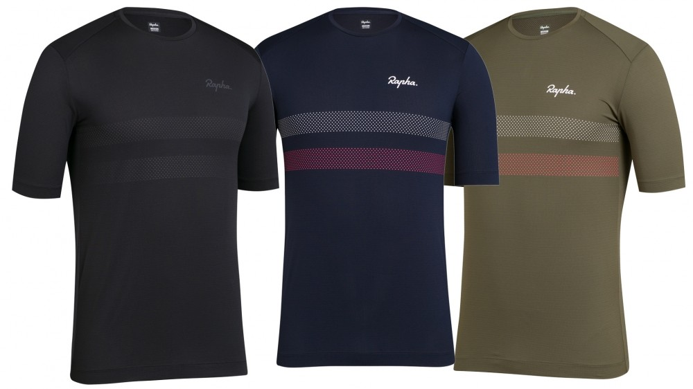 The Explore Technical T-shirt uses the same lightweight fabric as the Flyweight jersey
