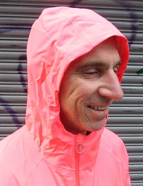 Say hello to the bright, hooded Commuter jacket from Rapha