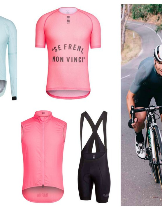 The new additions to the Rapha Pro Team Collection