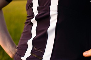 The jersey features 3 rear pockets - 2 large and one narrow central pocket, perfect for a mini-pump or gels