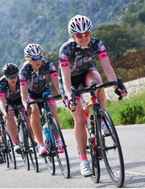 Ride with friends, a team, or just join a group to meet other like-minded women – however you join, enjoy the ride