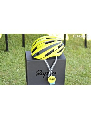 The Rapha helmet will be available from 20 September