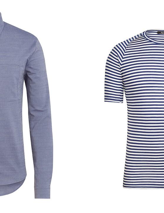 Rapha Merino Oxford and Merino T-Shirt
