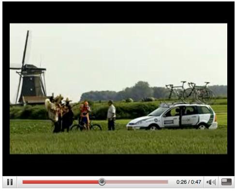 A funny Rasmussen mock TV advert from Dutch Procycling.