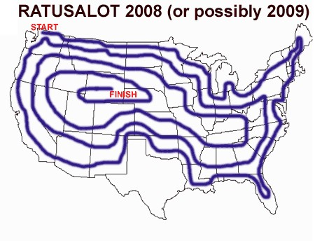 The route for the proposed RATUSALOT
