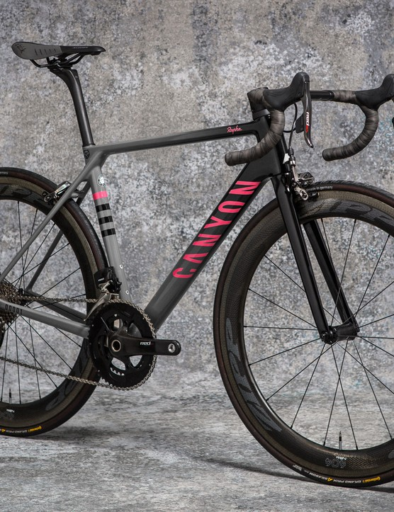 The complete bikes weigh a claimed 6.35kg in a medium, light enough that you'd need to add weight for UCI events
