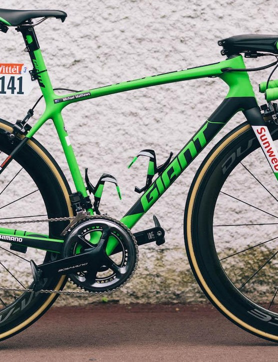 Michael Matthews' green jersey edition Giant TCR