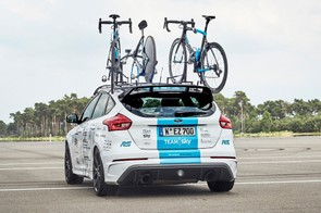 We reckon 345bhp is probably enough to keep up with a cyclist