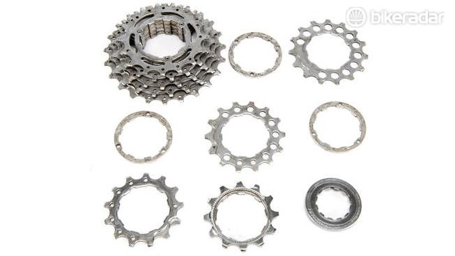 You can determine the speed of your groupset by counting the number of cogs on your cassette