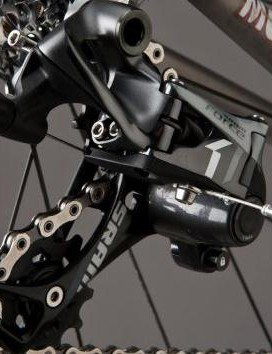 Despite visual similarities, CX1 derailleurs are not compatible with mountain bike shifters