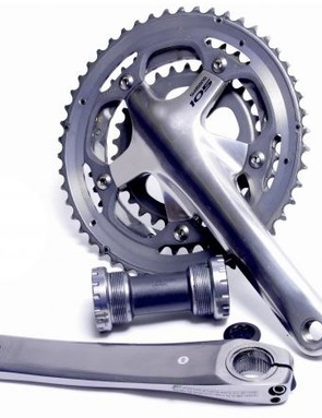 If you're using a triple chainset like this one, you'll need a long cage mech