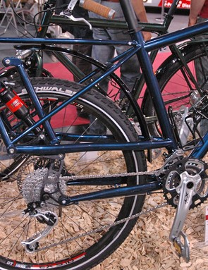 Panamericana from Tout Terrain. Over-engineered rear shock?