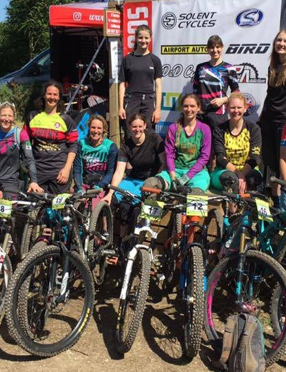 The Southern Enduro series women in action over the summer