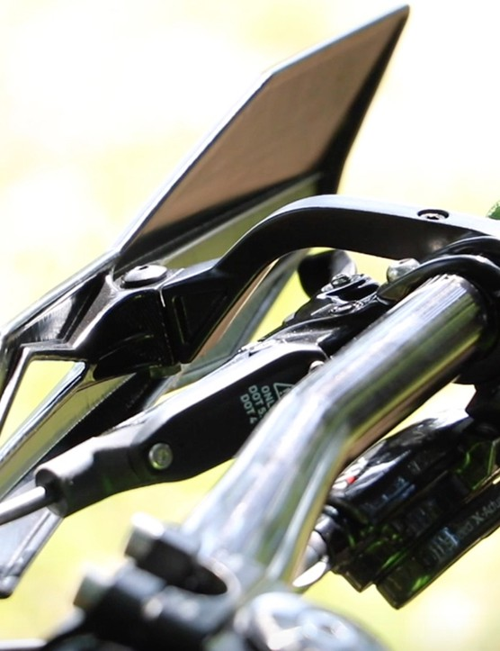 Unlike similar products, the Recchie guards also protect brakes and shifters