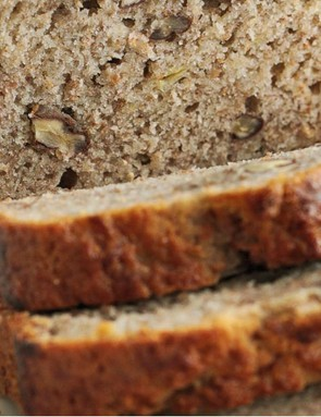 Moist and delicious banana breakfast loaf isn't just good for breakfast time, and it's also a great way to use up those brown bananas