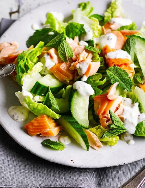 Salmon is packed full of essential fatty acids, and tastes delicious too