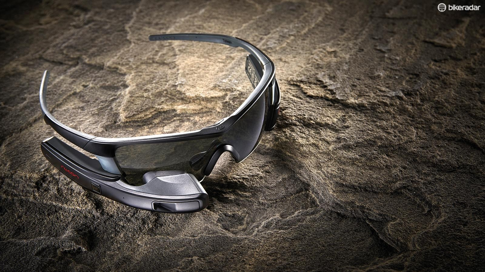 The Recon Jet smart glasses pack a heads-up display and a forward-facing camera