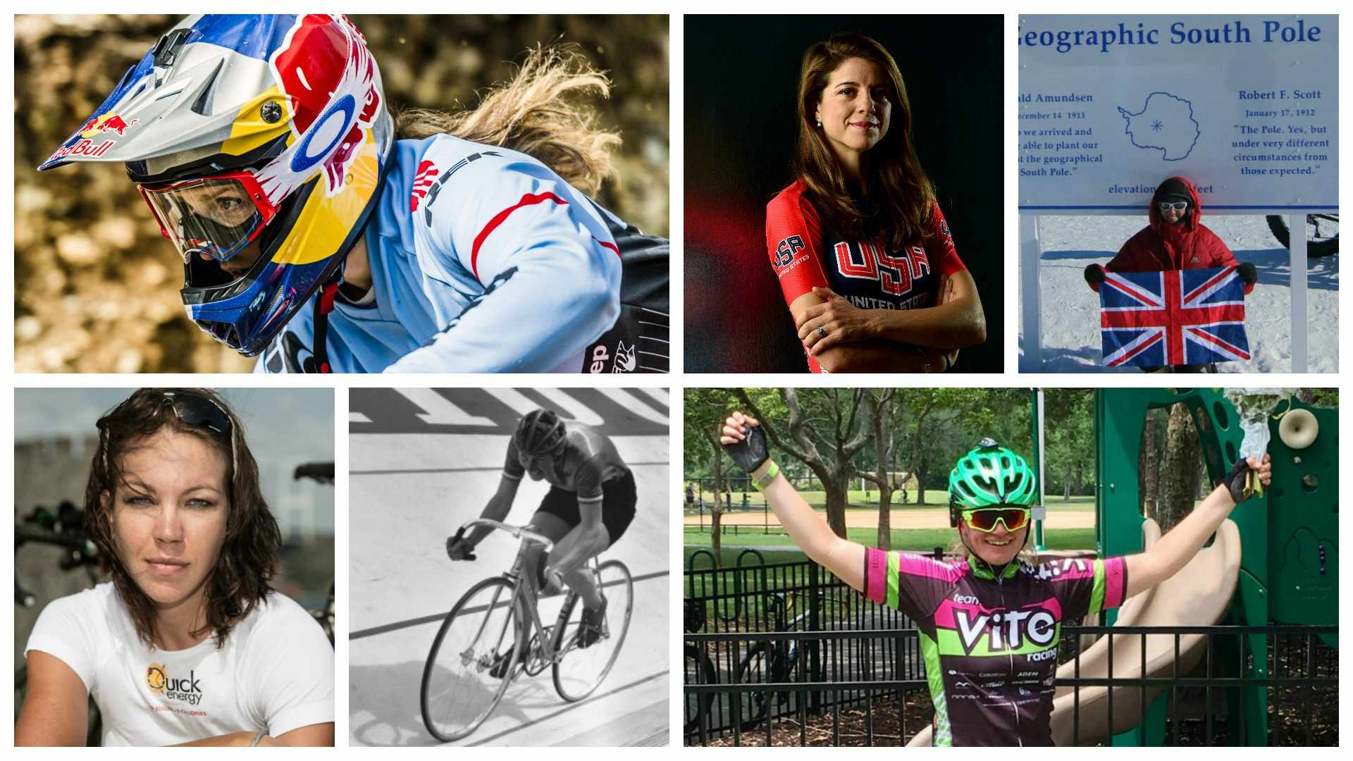 These female cyclists are breaking records with their bikes