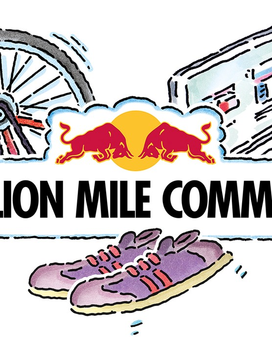 Join the Red Bull Million Mile Commute for a chance to win some great prizes!