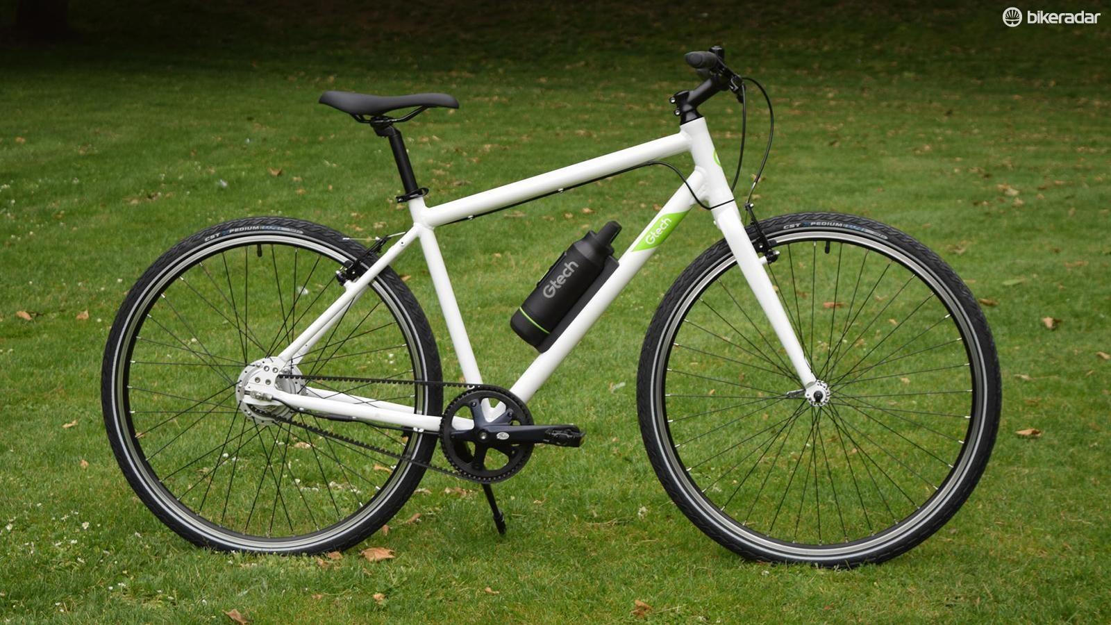 The Gtech is an appealingly simple e-bike