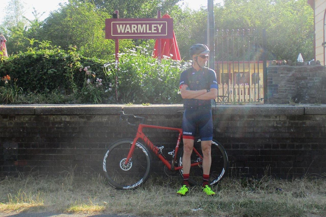 Rob Spedding lurking on Bristol to Bath cycle path