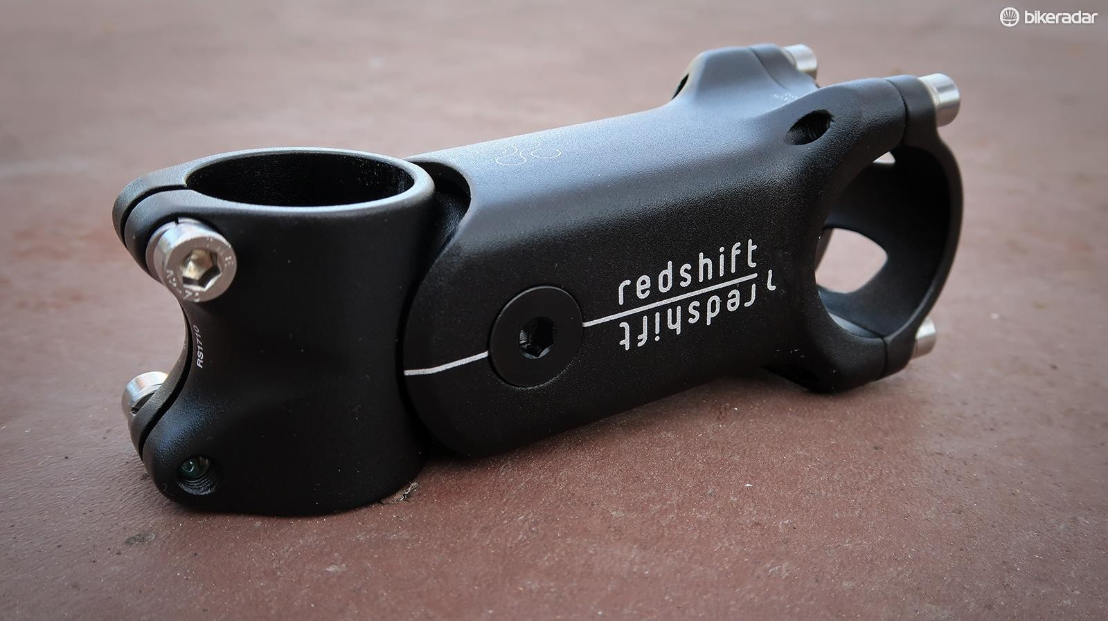 Redshift's ShockStop stem hides its suspension well